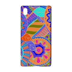 Pop Art Paisley Flowers Ornaments Multicolored 3 Sony by EDDArt