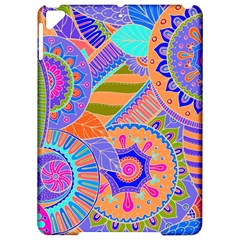 Pop Art Paisley Flowers Ornaments Multicolored 3 Apple Ipad Pro 9 7   Hardshell Case