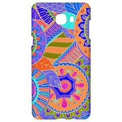 Pop Art Paisley Flowers Ornaments Multicolored 3 Samsung C9 Pro Hardshell Case