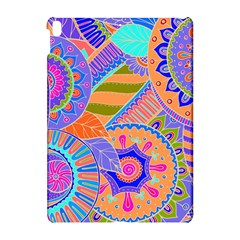 Pop Art Paisley Flowers Ornaments Multicolored 3 Apple Ipad Pro 10 5   Hardshell Case
