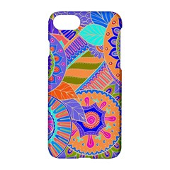 Pop Art Paisley Flowers Ornaments Multicolored 3 Apple Iphone 8 Hardshell Case