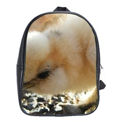 Silkie Chick  School Bag (large)