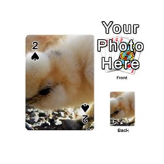 Silkie Chick  Playing Cards 54 (mini)