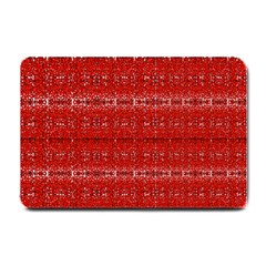 Red Lace Design Created By Flipstylez Designs Small Doormat