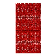 Red Lace Design Created By Flipstylez Designs Shower Curtain 36  X 72  (stall)  by flipstylezdes