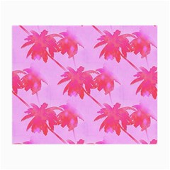 Palm Trees Pink Paradise Small Glasses Cloth (2 Side)