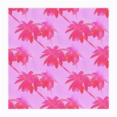 Palm Trees Pink Paradise Medium Glasses Cloth (2 Side)