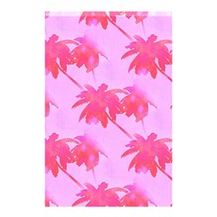Palm Trees Pink Paradise Shower Curtain 48  X 72  (small)