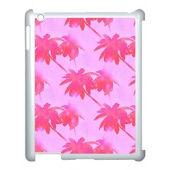 Palm Trees Pink Paradise Apple Ipad 3/4 Case (white) by CrypticFragmentsColors
