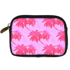 Palm Trees Pink Paradise Digital Camera Cases