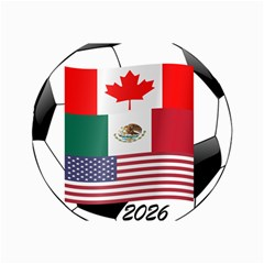United Football Championship Hosting 2026 Soccer Ball Logo Canada Mexico Usa Canvas 20  X 30