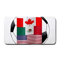 United Football Championship Hosting 2026 Soccer Ball Logo Canada Mexico Usa Medium Bar Mats