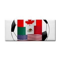 United Football Championship Hosting 2026 Soccer Ball Logo Canada Mexico Usa Hand Towel