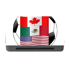United Football Championship Hosting 2026 Soccer Ball Logo Canada Mexico Usa Memory Card Reader With Cf