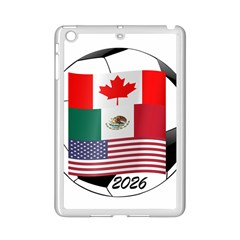 United Football Championship Hosting 2026 Soccer Ball Logo Canada Mexico Usa Ipad Mini 2 Enamel Coated Cases