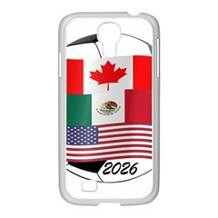United Football Championship Hosting 2026 Soccer Ball Logo Canada Mexico Usa Samsung Galaxy S4 I9500/ I9505 Case (white)