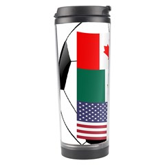 United Football Championship Hosting 2026 Soccer Ball Logo Canada Mexico Usa Travel Tumbler