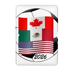 United Football Championship Hosting 2026 Soccer Ball Logo Canada Mexico Usa Samsung Galaxy Tab 2 (10 1 ) P5100 Hardshell Case