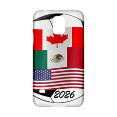 United Football Championship Hosting 2026 Soccer Ball Logo Canada Mexico Usa Samsung Galaxy S5 Hardshell Case  by yoursparklingshop