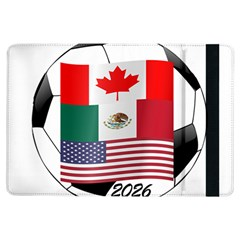 United Football Championship Hosting 2026 Soccer Ball Logo Canada Mexico Usa Ipad Air Flip