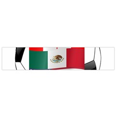 United Football Championship Hosting 2026 Soccer Ball Logo Canada Mexico Usa Small Flano Scarf