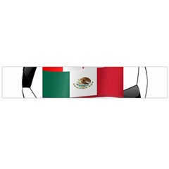 United Football Championship Hosting 2026 Soccer Ball Logo Canada Mexico Usa Large Flano Scarf