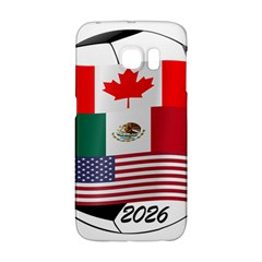 United Football Championship Hosting 2026 Soccer Ball Logo Canada Mexico Usa Samsung Galaxy S6 Edge Hardshell Case