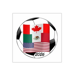 United Football Championship Hosting 2026 Soccer Ball Logo Canada Mexico Usa Satin Bandana Scarf