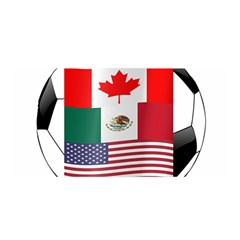 United Football Championship Hosting 2026 Soccer Ball Logo Canada Mexico Usa Satin Wrap
