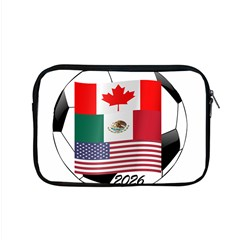 United Football Championship Hosting 2026 Soccer Ball Logo Canada Mexico Usa Apple Macbook Pro 15  Zipper Case
