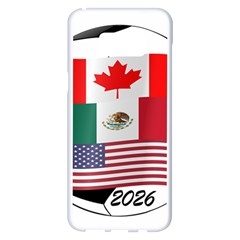 United Football Championship Hosting 2026 Soccer Ball Logo Canada Mexico Usa Samsung Galaxy S8 Plus White Seamless Case