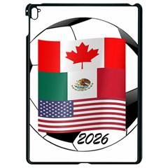 United Football Championship Hosting 2026 Soccer Ball Logo Canada Mexico Usa Apple Ipad Pro 9 7   Black Seamless Case