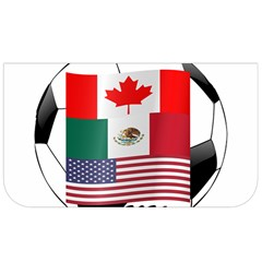 United Football Championship Hosting 2026 Soccer Ball Logo Canada Mexico Usa Lunch Bag