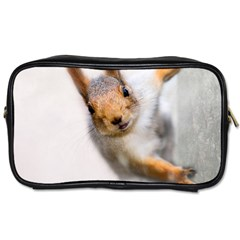 Curious Squirrel Toiletries Bags 2 Side by FunnyCow