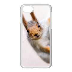 Curious Squirrel Apple Iphone 7 Seamless Case (white)