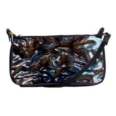 Melted Metal                                        Shoulder Clutch Bag