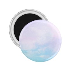 Pastel Pink And Blue Ombre 2 25  Magnets