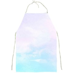 Pastel Pink And Blue Ombre Full Print Aprons