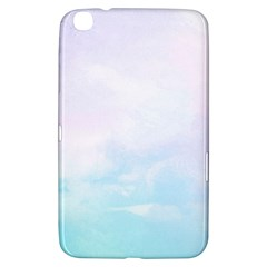 Pastel Pink And Blue Ombre Samsung Galaxy Tab 3 (8 ) T3100 Hardshell Case  by CrypticFragmentsColors