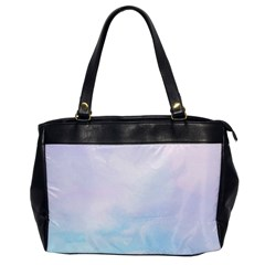Pastel Pink And Blue Ombre Office Handbags