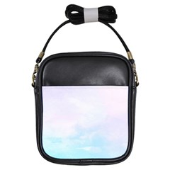 Pastel Pink And Blue Ombre Girls Sling Bags