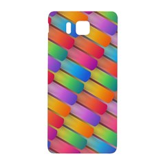 Colorful Textured Shapes Pattern                                Samsung Galaxy Alpha Hardshell Back Case