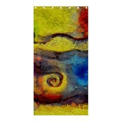 Painted Swirls                               Shower Curtain 36  X 72