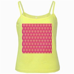 Series In Pink A Yellow Spaghetti Tank