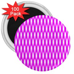 Series In Pink A 3  Magnets (100 Pack) by MoreColorsinLife
