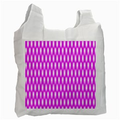 Series In Pink A Recycle Bag (two Side)