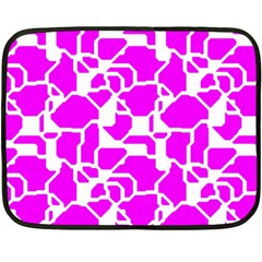 Series In Pink B Fleece Blanket (mini)