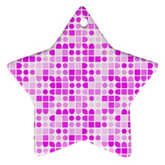 Series In Pink C Ornament (star)