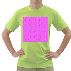 Series In Pink E Green T Shirt