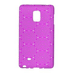 Series In Pink E Samsung Galaxy Note Edge Hardshell Case